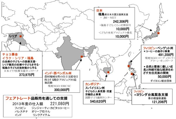 2013年度支援マップ